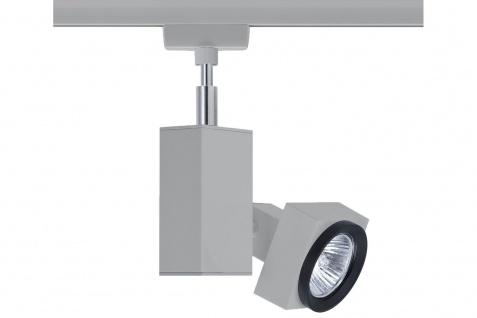 Paulmann 950.30 URail Schienensystem Light&Easy Spot Gurnemanz max. 1x50W GU5, 3 Chrom matt 230V Metall