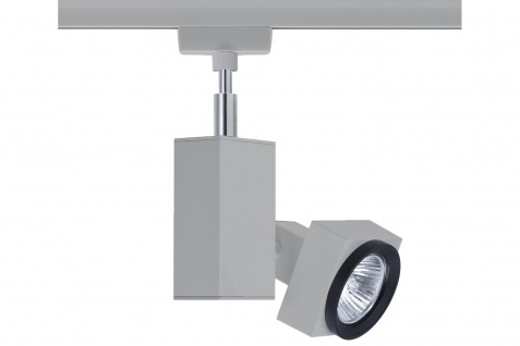 Paulmann URail Schienensystem Light&Easy Spot Gurnemanz max. 1x50W GU5, 3 Chrom matt 230V Metall