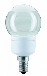 10 Stück 281.04 Paulmann E14 Fassung LED Tropfen 1W E14 Klar Warmwhite