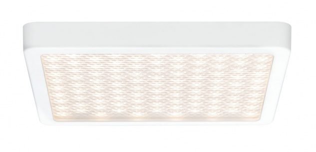 Paulmann WallCeiling Grid LED-Panel IP44 240x240mm 10W 230V Weiß matt/Kunststoff