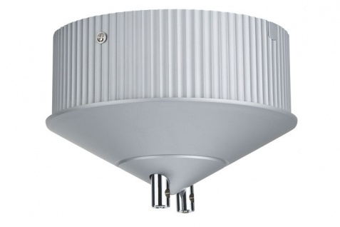 Ringkern Trafo dekorativ max.150W 230V 150VA Alu matt