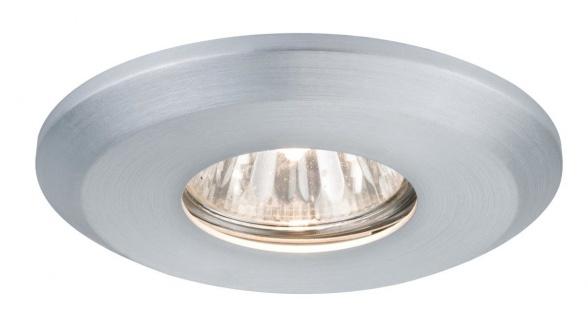 Paulmann CombiSystems Premium Einbauleuchte Alu gedreht starr 51mm Aluminium