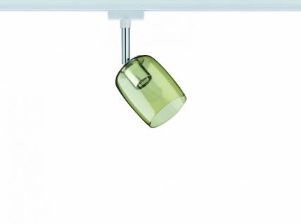 URail System Spot Blossom max. 1x10W G9 Weiß/Gelb transparent 230V Metall/Glas