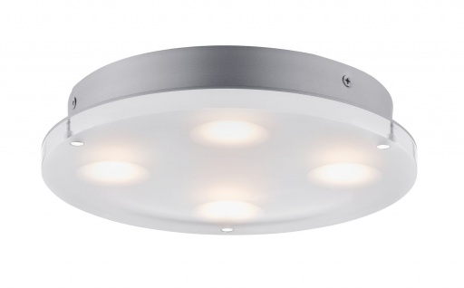 Paulmann 705.09 WallCeiling DL rund Minor IP44 LED 18W 230mm Satin 230V Acryl