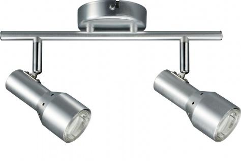 Paulmann 665.09 Spotlights PALU Energiesparlampe 2x11W GU10 Alu 230V