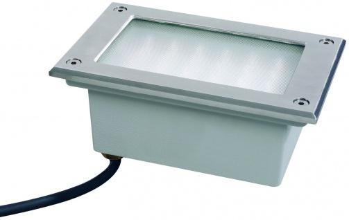 987.49 Paulmann Wand & Bodeneinbau Special EBL Set Boden LED 3W 230V 165x103mm Edelstahl/Metall