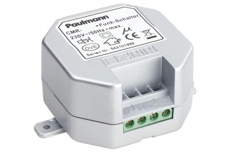 Paulmann Profi Funk Einbaudimmer 60-300W 230V Chrom matt - Vorschau