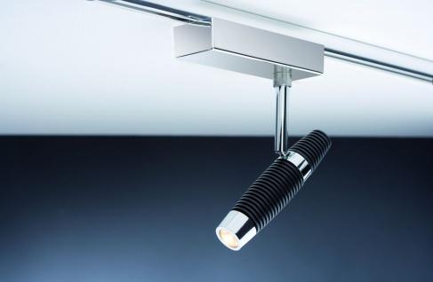 Paulmann URail Schienensystem Light&Easy Spot Channel 1x10W Schwarz/Chrom 230V Metall - Vorschau 5