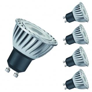 4x Paulmann GU10 Fassung 28057 LED Powerline 3, 5W GU10 Tageslichtweiß