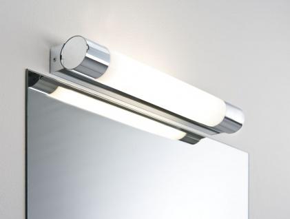 Paulmann 703.62 WallCeiling Orgon IP44 Steckdose 8W G5 440mm Chrom/Weiß 230V Metall/Acryl