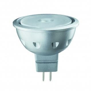 28156.10 Paulmann 12V Fassung LED Quality Reflektor 4W GU5, 3 12V Warmweiß 640cd/25° 10 Stück