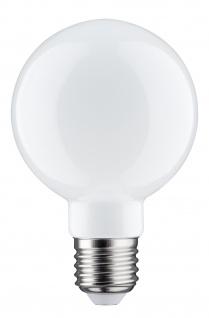Paulmann 284.86 LED Globe 80 6W E27 Opal 2700K dimmbar