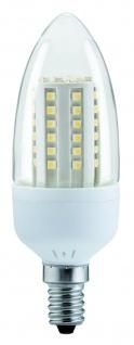Paulmann 281.08 LED Kerze 3W E14 Klar Warmweiß 250 lm