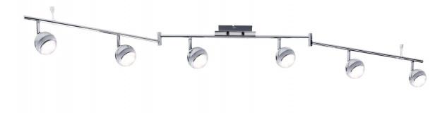 Paulmann Spotlight Scoop LED 6x4, 6W Chrom 230V Kunststoff