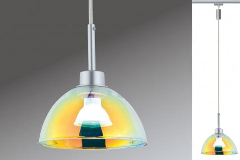 Paulmann 954.51 URail Pendel Sarrasani max 1x10W GU10 Chrom matt/Dichro 230V Metall Glas - Vorschau 3