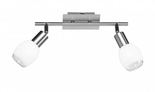 Deckenlampe Bay Deckenleuchte 2x28W 230V Nickel matt 736702640000 Action