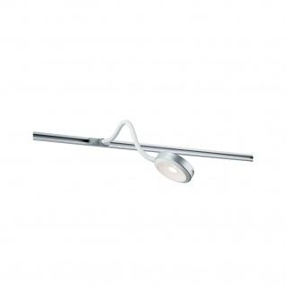 Paulmann URail Syst LED Leseleuchte Discus 1x5, 5W Chrom matt 230V Metall/Kunststoff