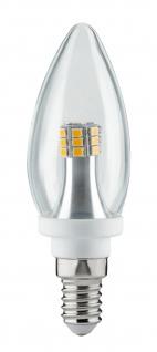 Paulmann 283.15 LED Kerze 4W E14 230V Klar 2700K