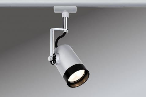 Paulmann 952.29 URail Schienensystem LED Spot Scale 1x3, 5W GU10 Chrom matt/Chrom 230V Metall