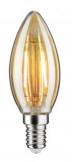 Paulmann LED Kerze 2, 5W E14 230V Gold 2500K