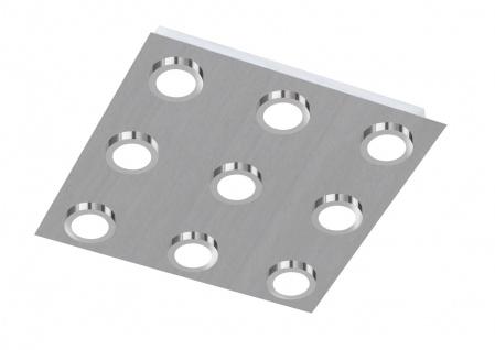 987109640000 Action Deckenlampe Veneta LED Deckenleuchte 9 x 3 W 3.000 K 1.890 Lumen Nickel matt