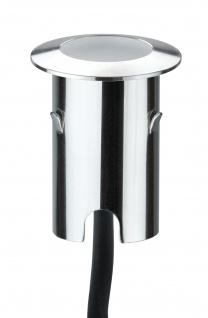 Paulmann Special MiniPlus Boden Einbauleuchte rund IP67 Basisset 4x0, 7W 2700K 12VA 43mm Edelstahl - Vorschau 2