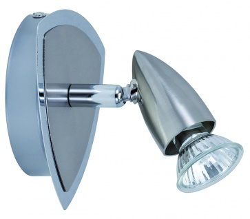 Paulmann 662.07 Spotlights Gesa Rondell 1x50W GU10 Eisen gebürstet 230V Metall