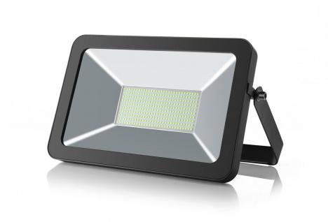 LED Strahler 50W 6000K Tageslicht 230V 4700lm Schwarz