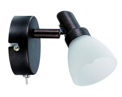 Paulmann Spotlight Classico Rondell 1x42W G9 Rusty Iron 230V Metall/Glas