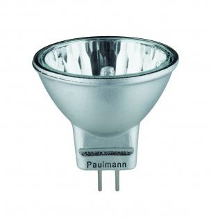 Paulmann Halogen Reflektor Akzent flood 30° 2x20W GU4 12V 35mm Alu