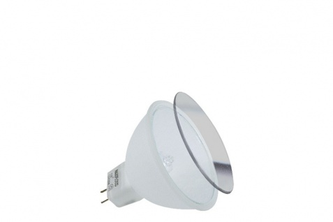 Paulmann Halogen Reflektor Maxiflood mit Schutzglas 100° 50W GU5, 3 12V 51mm Softopal