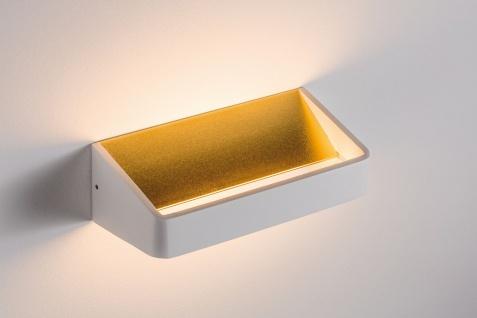 Paulmann 707.98 Wall Ceiling Bar WL LED 1x5, 5W Weiß/Gold 230V Alu