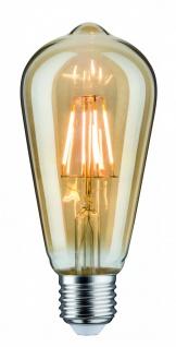 Paulmann LED Rustika (ST64) 5W E27 230V Gold 2500K