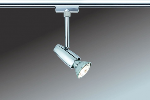 Paulmann URail Schienensystem Light&Easy Spot Barelli 1x50W GU10 Chrom 230V Metall - Vorschau 2