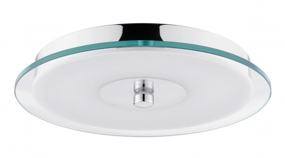 Paulmann WallCeiling Pollux IP44 LED 14W 320mm Chrom/Weiß/Klar 230V Metall/Acryl