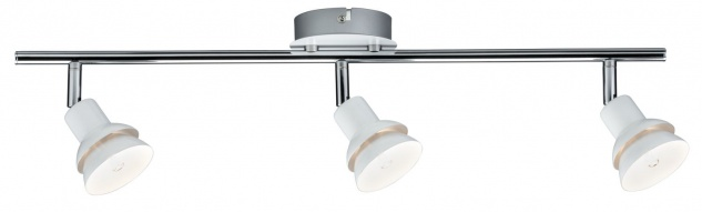 Paulmann Spotlight Double 3x2, 2W G9 Weiß/Chrom 230V Metall
