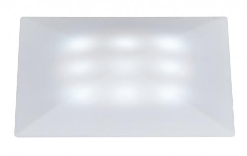 Special EBL Set UpDownlight Quadro LED 3x1W 230/12V 50mm Satin/Kunststoff
