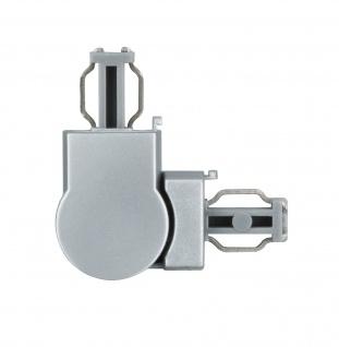 Paulmann 950.55 ULine System L+E L-Verbinder flexibel Chrom matt Kunststoff