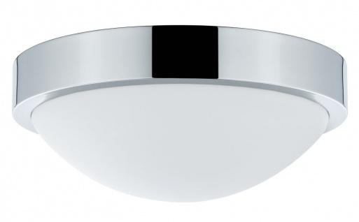 Paulmann WallCeiling Falima IP44 max.18W 260mm E27 Chrom/Weiß 230V Metall/Acryl