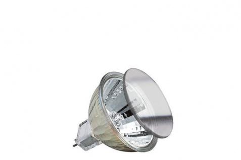 88332.09 Paulmann 12V Fassung Halogen KLS mit Schutzglas ESX spot 10° 20W GU5, 3 12V 51mm Silber