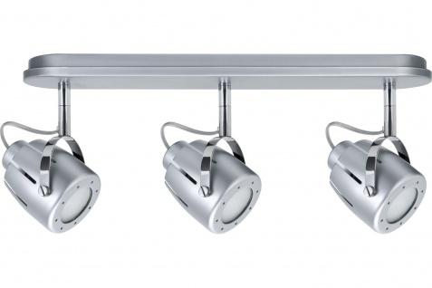 Paulmann 600.43 Spotlights Mega Balken max. 3x50W GU10 Chrom matt 230V Metall