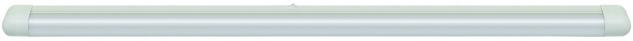 Function Slimline Schmalformleuchte 1x30W G13 Weiß 230V Metall/Kunststoff