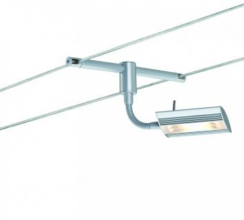 Paulmann Seil- und Schienenspot CombiSystems Linear 1x6W Chrom matt 230/12V Metall - Vorschau 5