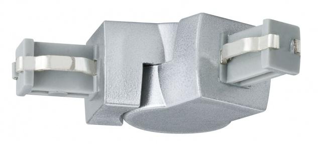 Paulmann ULine System L+E L-Verbinder flexibel Chrom matt Kunststoff - Vorschau 2
