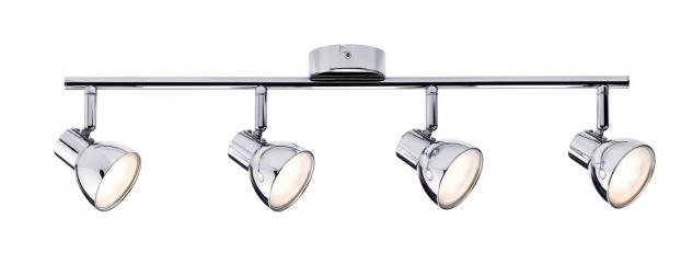 Paulmann Spotlight Cup LED 4x4, 6W Chrom 230V Kunststoff