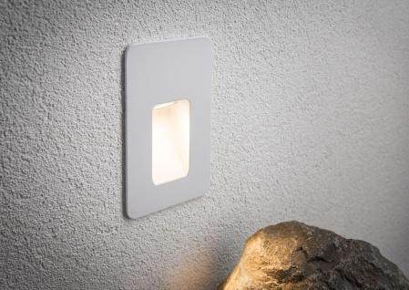 Paulmann 938.08 Special Einbauleuchte Set IP44 Wand Slot LED 2, 4W 230V 90mm Weiß matt/Alu - Vorschau 4