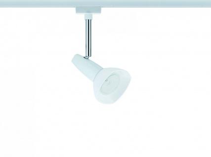 976.93 Paulmann U-Rail Einzelteile URail System Light&Easy Spot Barelli 1x40W GZ10 Weiß/Opal 230V Metall/Glas