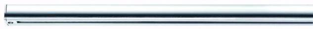 Paulmann URail Schienensystem Light&Easy Schiene 1m Chrom 230V Metall