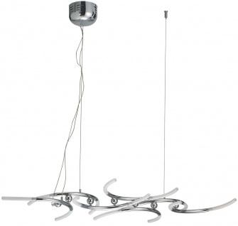 Paulmann Living Bow Pendelleuchte 14x10W G4 Chrom/Satin 230V/12V Metall/Glas