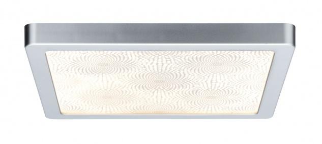 Paulmann WallCeiling Ivy LED-Panel IP44 300x300mm 14W 230V Chrom matt/Kunststoff